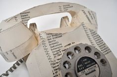 paper phone by Jennifer Collier
