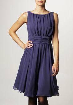 211439b65c0 Cocktailkleid festliches Kleid - dunkel lila