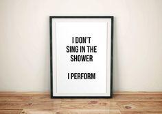 Bathroom Prints, Bathroom Art, Bathroom Signs, Bathroom Ideas, Bathroom Quotes, Bathroom Stuff, Bathroom Humor, Sign Sayings, Sign Quotes