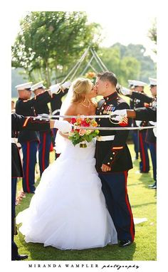 Our sword detail. <3 Marine Corps Wedding