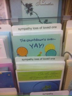 The person who had to sort the cards.   26 People Who Managed To Mess Up Their One Job