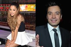 You Need to See Ariana Grande and Jimmy Fallon Lip Sync With Snapchat Filters |