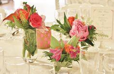 table : fuchsia&orange
