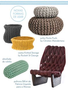 knitting furniture