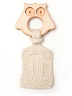 Oliver & Adelaide Infant's Owl Teether