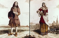 French peasants in the 18th Century - This is for France specifically, but I wonder if the average citizens of New France/Quebec looked similar in how they dressed.