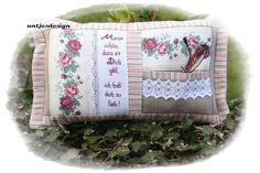 Geschenk für   Mutter  Romantik -  Kisssen Shabby von Antjes Design auf DaWanda.com