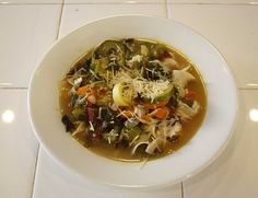 My homemade chicken noodle soup recipe
