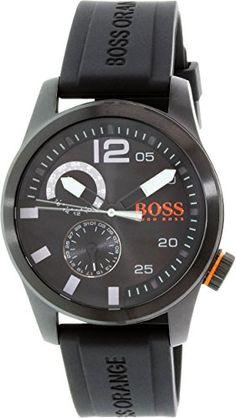 Hugo Boss Men's Orange 1513147 Black Silicone Quartz Watch Hugo Boss http://www.amazon.ca/dp/B01254ZDOG/ref=cm_sw_r_pi_dp_Gbxfwb1D47J50
