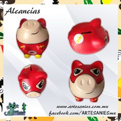 Artesanies Color Me Mine, Personalized Piggy Bank, Square Art, Creative Crafts, Craft Gifts, Cartoon, Madison Square, Diy, Creative Products