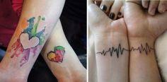 24 Casais Que Tatuaram O Seu Amor!