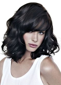 Outstanding Medium Length Hairs Curls And Hollywood Waves On Pinterest Short Hairstyles For Black Women Fulllsitofus