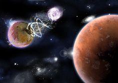 Pierwsze podejście do kosmosu na potrzeby gry Inferno.