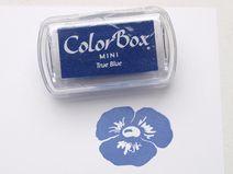 Mini ColorBox Stempelkissen • Wahres Blau