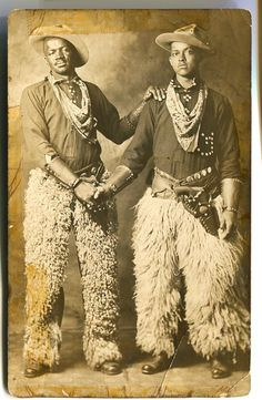 blackhistoryalbum:  Black Cowboys | 1913 Black History Album, The Way We Were  Most cowboys were actually Black (at least 1 in 4) and/or Native American and/or Mexican.