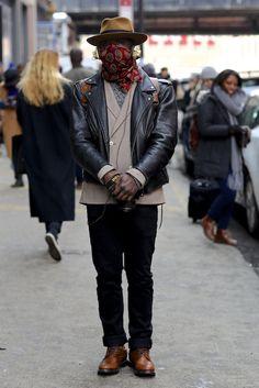 Male fashion F/W14 #scarf