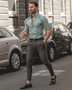 Mens fashion - Image may contain one or more people, people standing and car Trendy Mens Fashion, Indian Men Fashion, Stylish Mens Outfits, Mens Fashion Blog, Mens Fashion Suits, Stylish Clothes, Men's Fashion, Formal Men Outfit, Formal Dresses For Men