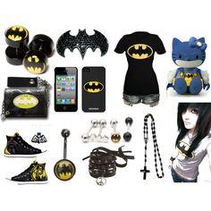 batman accessories | Found on polyvore.com