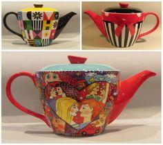 Details about Jameson & Tailor Ceramic 6 Cup Teapot Tea pot, in 3 Retro Designs Bing Images, Tea Pots, Porcelain, Ceramics, Mugs, Retro, Tableware, Ebay, Design