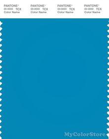 pantone smart 18-4245tn color swatch card, electric blue lemonade