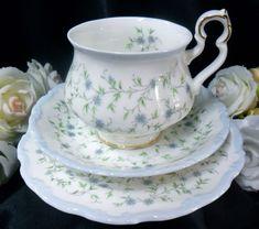 Royal Albert Caroline  Victoria trio: first  pattern I liked (i.e. no gold)