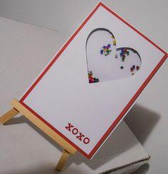 love shaker card Shaker Cards, I Card