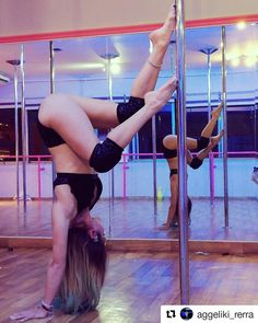 Pole Dancing Fitness, Pole Fitness, Pool Dance, Aerial Acrobatics, Handstands, Ballet Dance, Collections, Training, Amazing