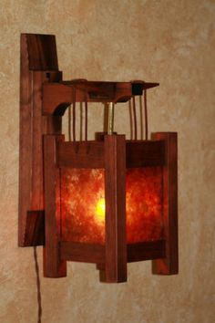 craftsman style sconces - could rob make these?
