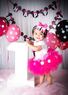 1st birthday picture