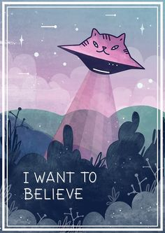 """""""I want to believe"""" by Paola Vecchi   Redbubble"""