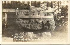"""Photo postcard, West Virginia, East Rainelle, The """"Dubree Lump"""" at King Coal"""