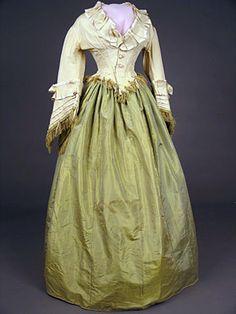Dress, ca 1870