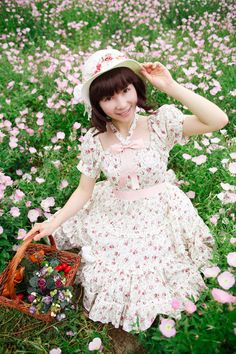 Adorable country lolita dress from qutieland.com