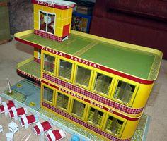 Vintage METTOY Playthings EMERGENCY Ward 10 HOSPITAL Boxed INSTRUCTIONS | eBay