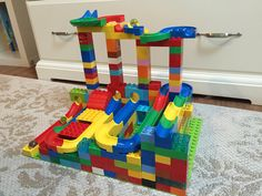 Lego Duplo, Projects For Kids, Crafts For Kids, Marble Tracks, Lego For Kids, Legos, Kids Toys, Room Decor, Children