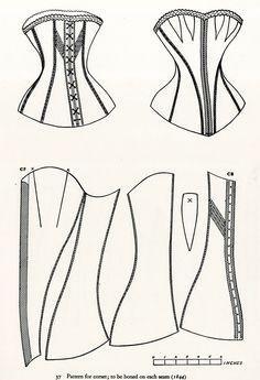 corset pattern - Buscar con Google