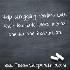 Help struggling read
