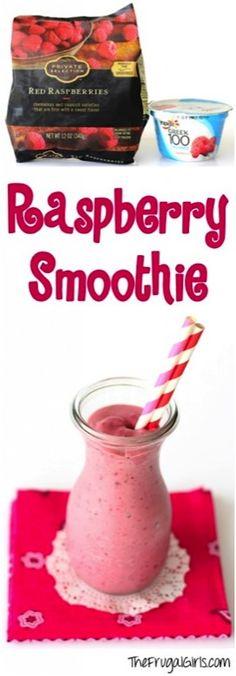 Easy Raspberry Smoothie Recipe