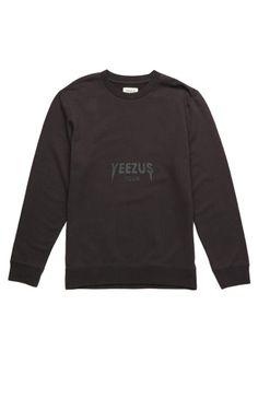 Yeezus Tour Merch Vintage Crew Fleece #pacsun #yeezus