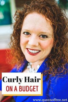 Tame your mane with these tips for styling curly hair on a budget.