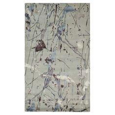 Soho Gray & Blue Rug