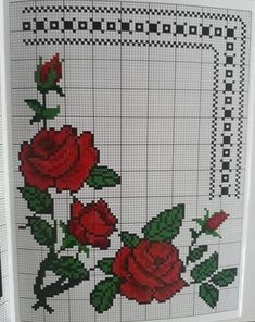 Ely, Crochet Ideas, Table Toppers, Cross Stitch Geometric, Embroidery Stitches, Patrones