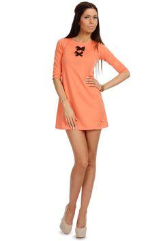 Elegancka tunika w kształcie trapezu Cold Shoulder Dress, Dresses, Fashion, Vestidos, Moda, Fashion Styles, Dress, Fashion Illustrations, Gown