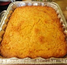 cornbread pudding at country cooks across america