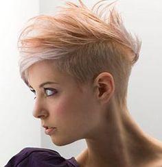 Krótkie obcięcia włosów damskie