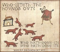 Who let the dogs out?. #HistoryHumor