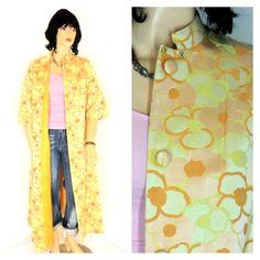 Vintage 1960s opera coat sze L 60s Robinson's by SunnyBohoVintage