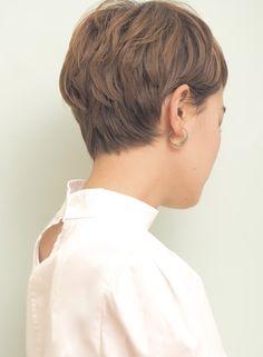 大人かっこいいショートスタイル(髪型ショートヘア)
