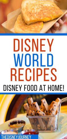 Disney World Essen, Disney World Food, Disney Parks, Walt Disney, Disney List, Disney Worlds, Disney Magic, Disney Themed Food, Disney Inspired Food