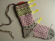Mamluke socks WIP by 100% pura lana, via Flickr